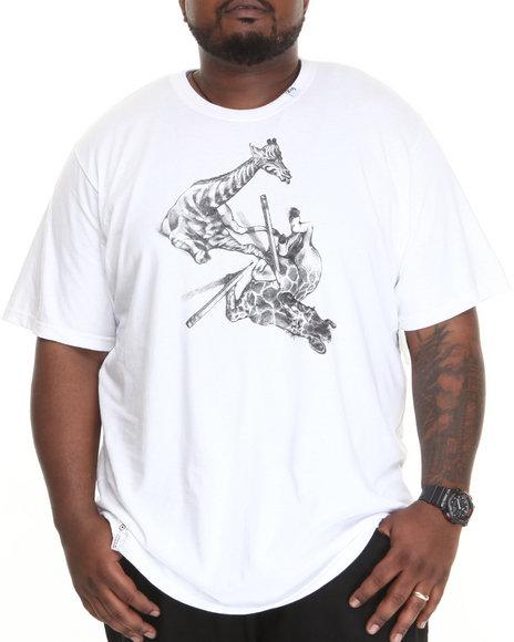 Lrg - Men White Natural Draftsmen S/S Tee (B&T)