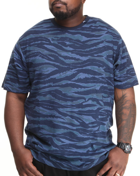 Lrg - Men Navy Core Collection Nine Camo S/S Tee (B&T)