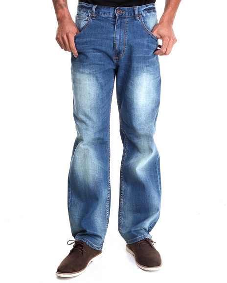 Lrg - Men Medium Wash Core Collection C-47 Denim Jeans