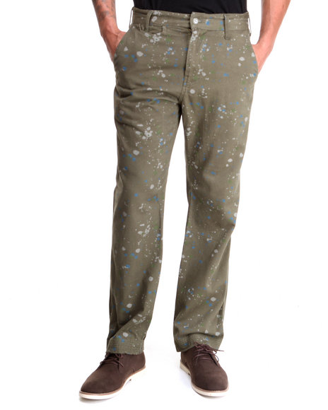 Parish - Men Olive Naiorobi Platter Pant