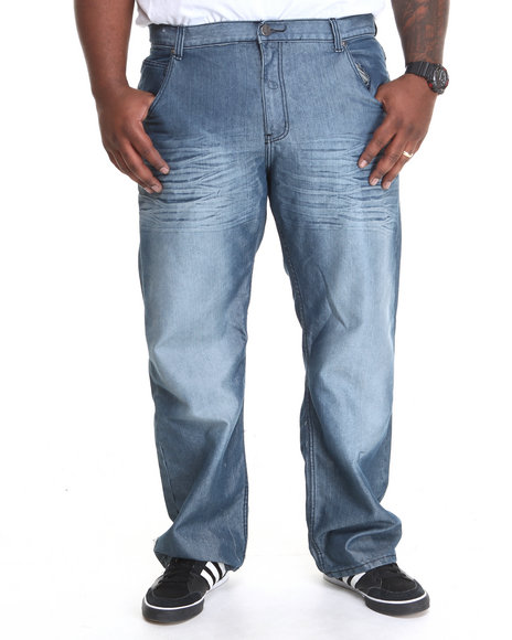 Basic Essentials - Men Medium Wash Royal Denim Jeans (B&T)