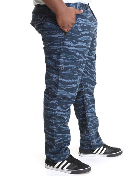 Lrg - Men Navy Core Collection Cargo True - Straight Pants (B&T)