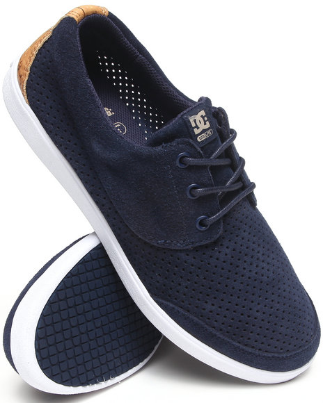 Dc Shoes - Men Navy Pool Le Sneakers