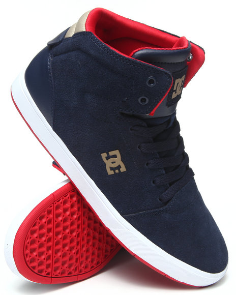 Dc Shoes - Men Blue,Red Crisis High Sneakers