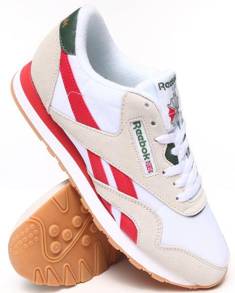 Reebok - Men Tan Classic Nylon R13 Sneakers