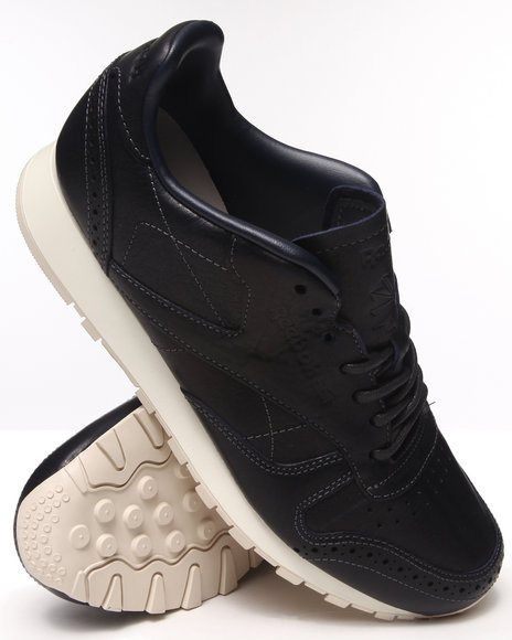 Reebok Navy Cl Leather Lux Cf Stead Sneakers