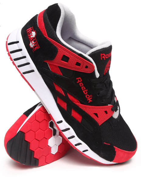 Reebok - Men Black Sole Trainer Sneakers