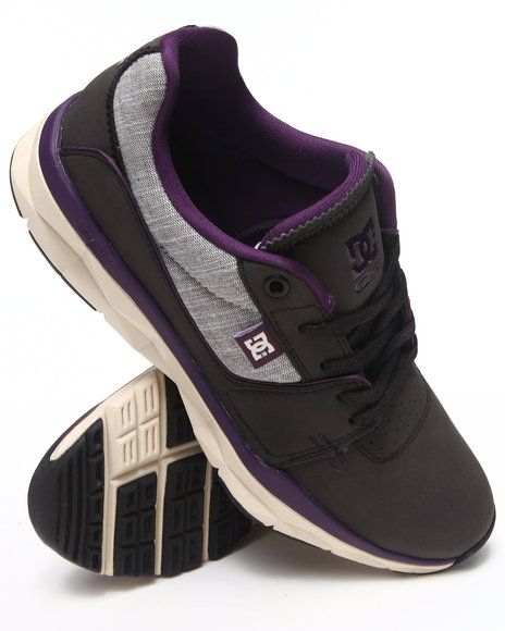 DC Shoes Black,Purple Player Sneakers