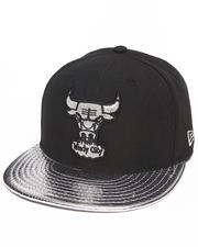 New Era - Chicago Bulls Hardwood Classics  Metallic Slither 5950 fitted hat