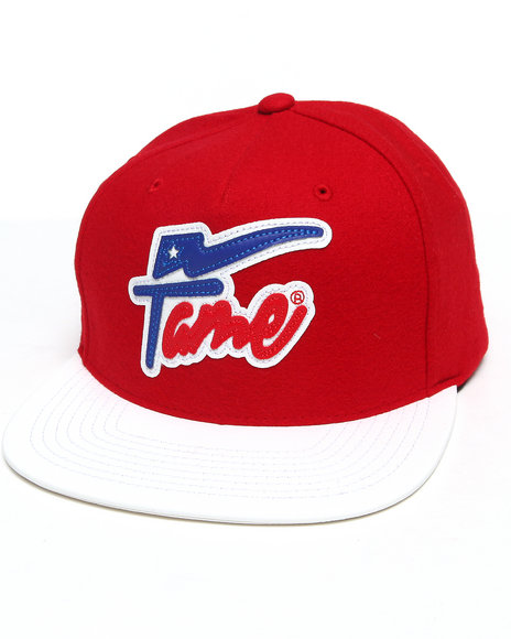 Hall Of Fame Champion Snapback Cap Red