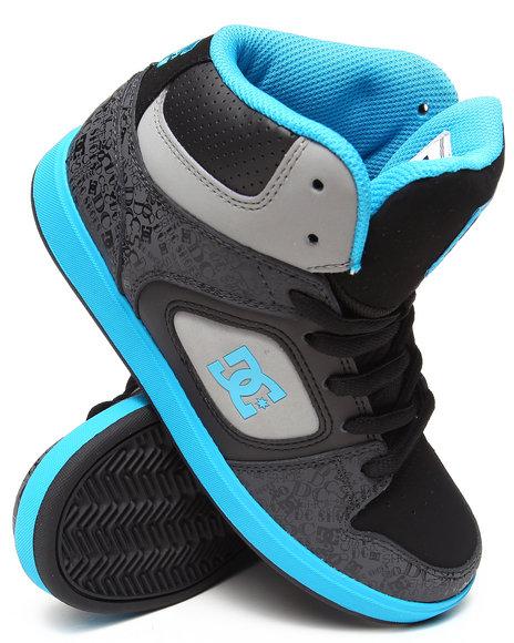 DC Shoes Boys Black Union High Se Sneaker (4-7)