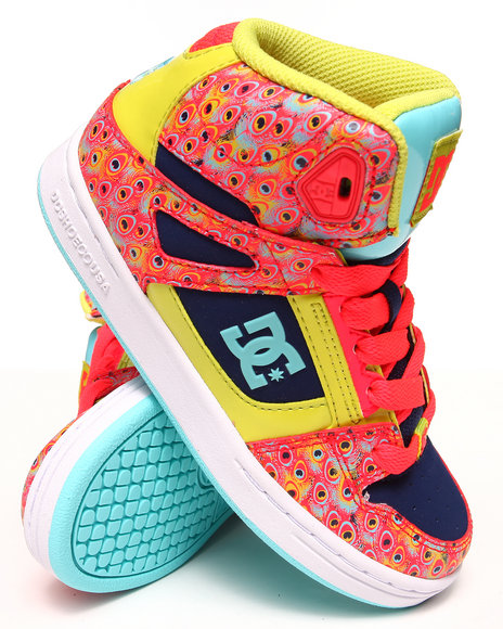 Dc Shoes - Girls Multi Rebound Se Sneakers (1-7)