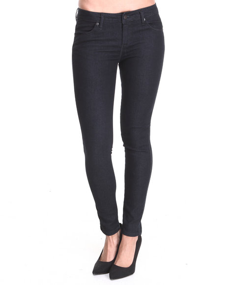 Basic Essentials - Women Navy Evette Basic Denim Jean - $12.99