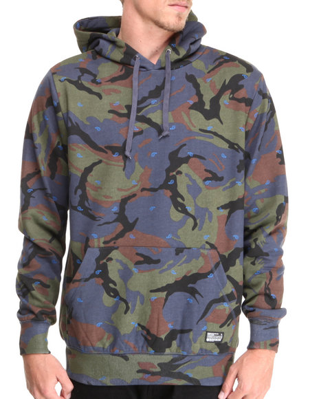 Crooks & Castles - Men Camo Killstreak Sweatshirt