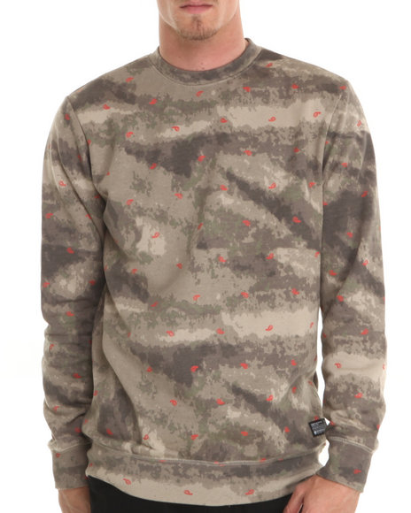 Crooks & Castles Camo Killstreak Sweatshirt