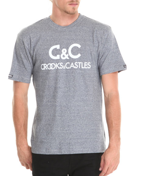 Crooks & Castles - Men Navy Regal T-Shirt - $18.99
