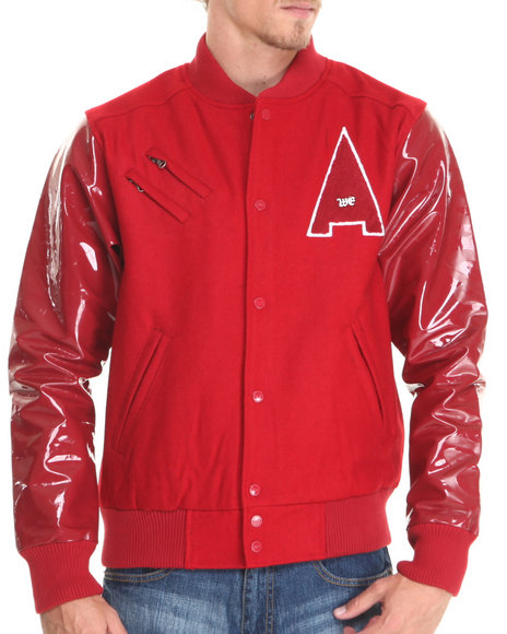 Well Established - Men Red Well Established Shine Jacket