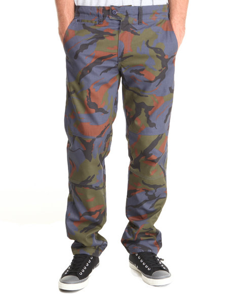 Crooks & Castles - Men Camo Killstreak Surplus Pants
