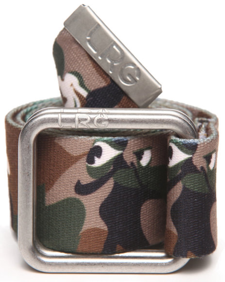 Lrg Men Wolfland Camo Belt Khaki