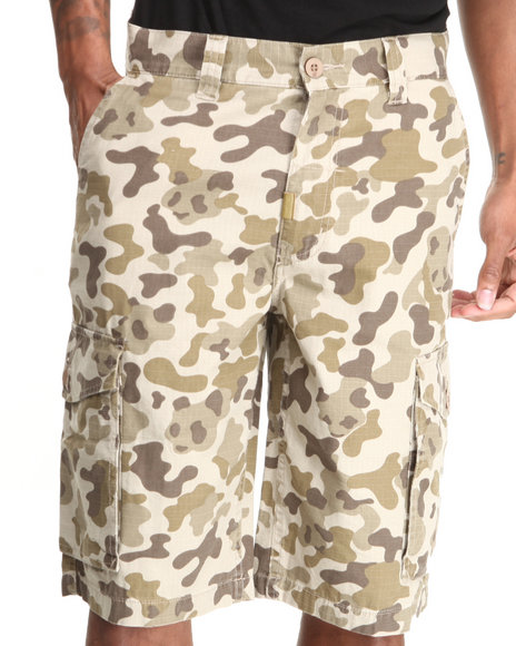 LRG - Men Camo Core Collection Classic Cargo Shorts