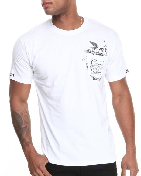 Crooks & Castles - Men White Cherub T-Shirt