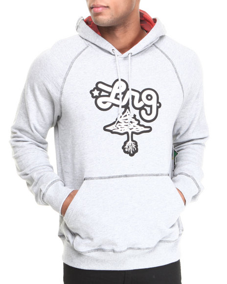 Lrg - Men Grey Core Collection Pullover Hoodie