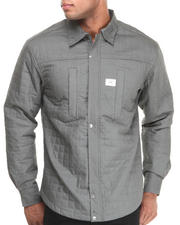 Button-downs - Monument Wellness L/S Button down shirt