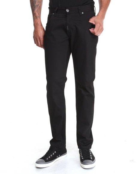 LRG - Men Black Core Collection True - Tapered Denim Jeans