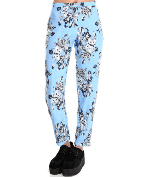Motel - Women Blue Jeanie Trouser