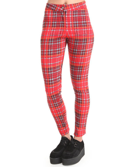 Motel Red Galaxy Trouser