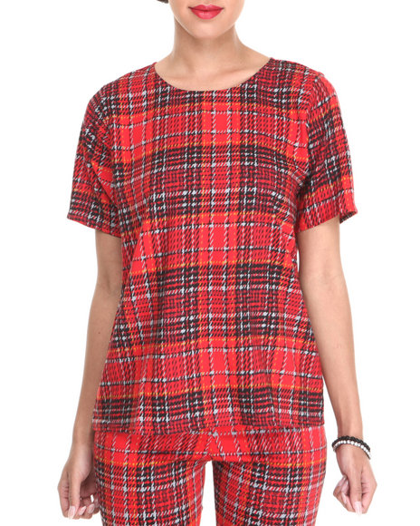 Motel - Women Red Pacey Top