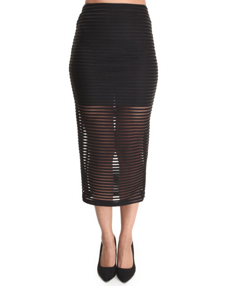 Motel Black Bobby Skirt
