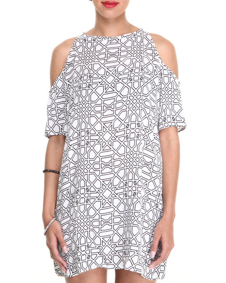 Motel - Women White Savannah Dress