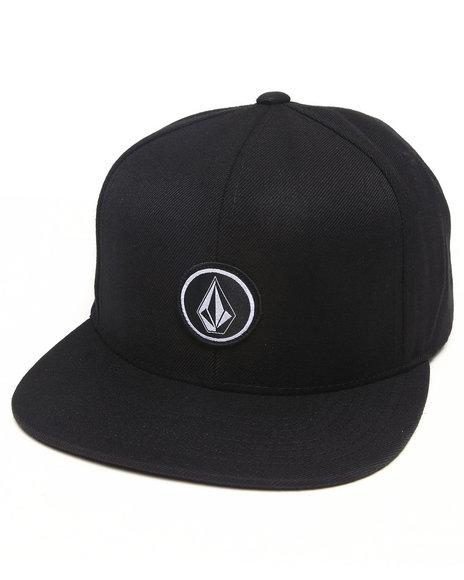 Volcom Quarter Snapback Cap Black