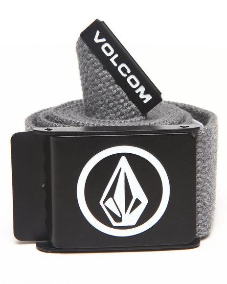 Volcom Circle Web Belt Grey