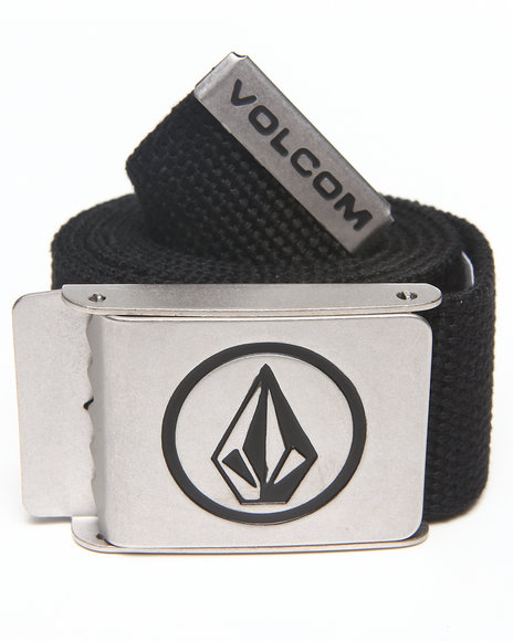 Volcom Circle Web Belt Black