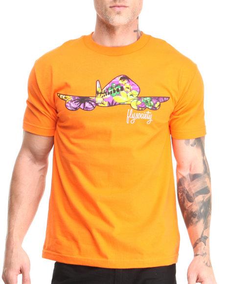 Flysociety Orange Layover T-Shirt