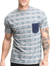 Men - Beautiful Giant Native Beach Jacquard Knit S/S Tee