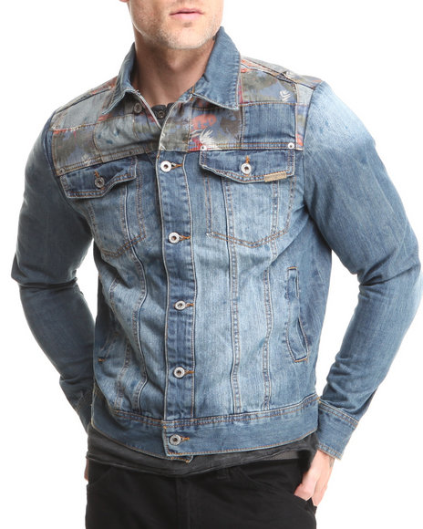 Parish Medium Wash Campfire Denim Jacket