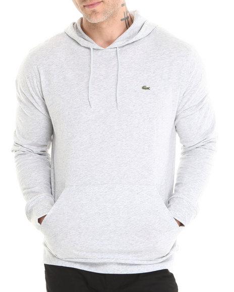 Lacoste Grey Jersey Hoodie