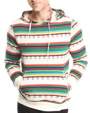 Men - Beautiful Giant Puebla Desert Jacquard Hoodie