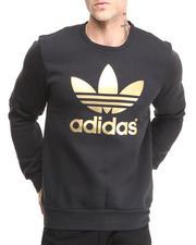 Adidas - Mirror Trefoil Logo Crew Neck Sweatshirt