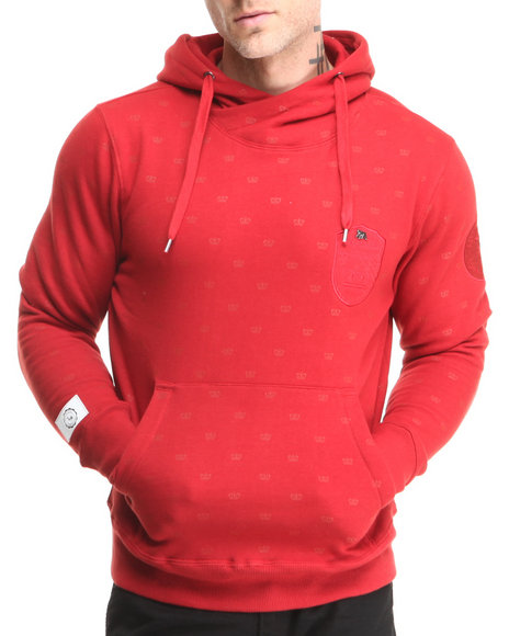 Live Mechanics Red King Me Hoodie