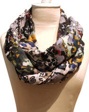 Women - Tribal Voile Scarf