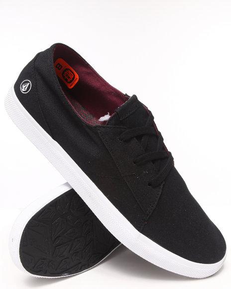 Volcom Black Lo Fi Sneakers