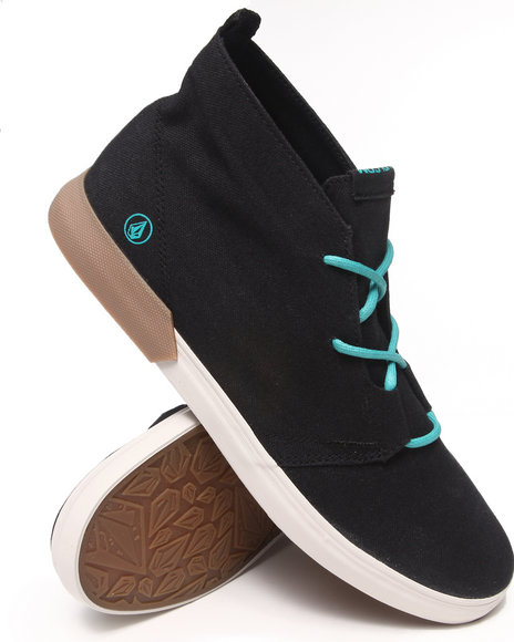Volcom Black,Blue De Fray Sneakers