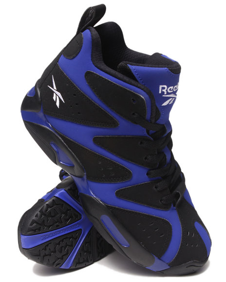 Reebok Black,Purple Sneakers