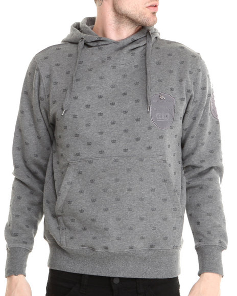 Live Mechanics Grey King Me Hoody