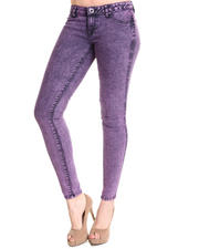Leggings - Railed Denim Leggings