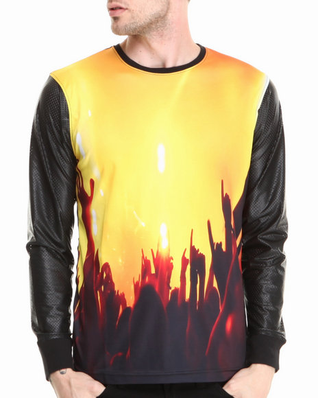 Live Mechanics Gold Crowd Control L/S Shirt